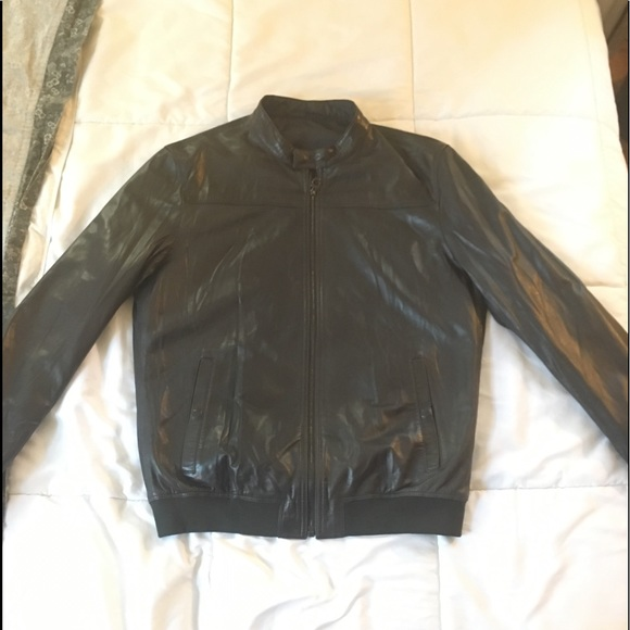03ca5b18f Ferragamo Reversible Leather/Nylon Bomber Jacket